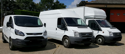 Our Basingstoke Van Hire Fleet